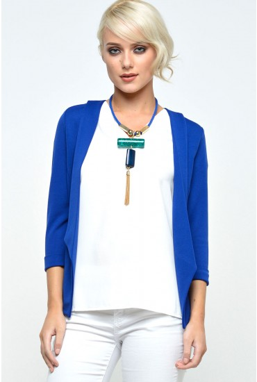 Veronica Lightweight Blazer in Royal Blue