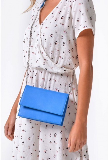 Miriam Cross Body Bag in Blue