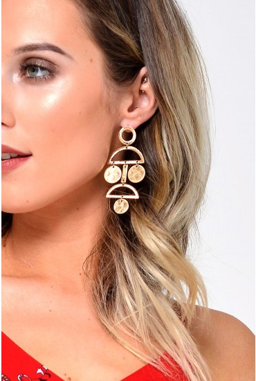 Dollie Earrings in Gold