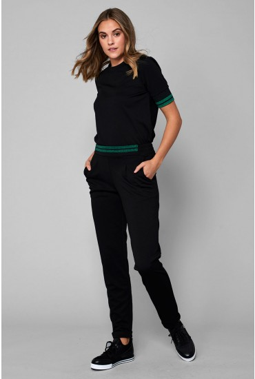 Tammy Casual Trousers in Black