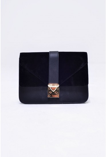 Jonna Cross Body Bag in Black