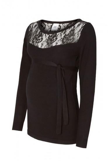 Myna Lace Knit Maternity Top
