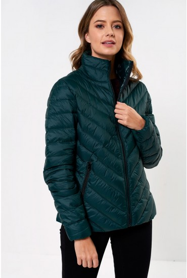 Ibico Lightweight Duck Down Jacket in Green