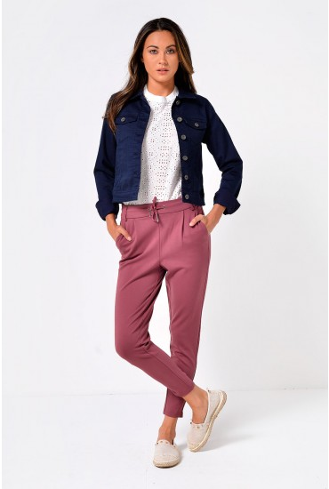 Power Regular Pants in Mulberry