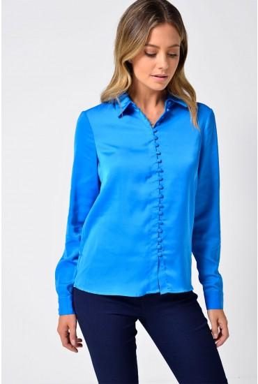 Chella L/S Shirt in Blue