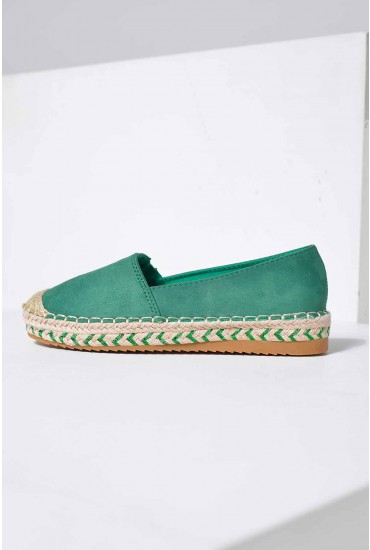 Pedro Espadrilles in Green