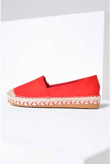 Pedro Espadrilles in Red