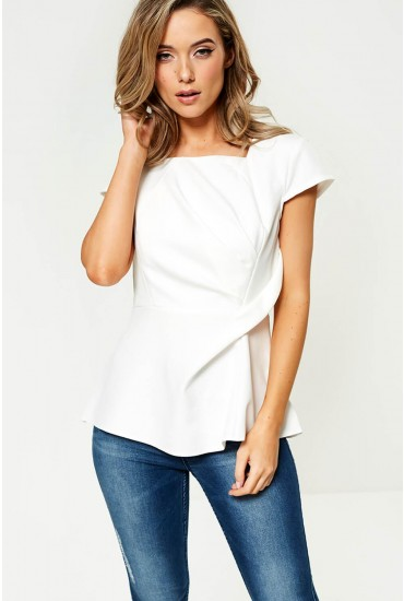 Athena Occasion Top in Off White