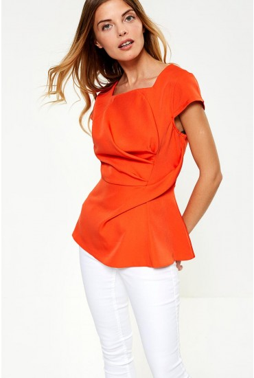 Athena Occasion Top in Orange