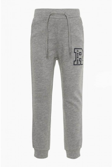 Bart Boys Sweat Pants in Grey