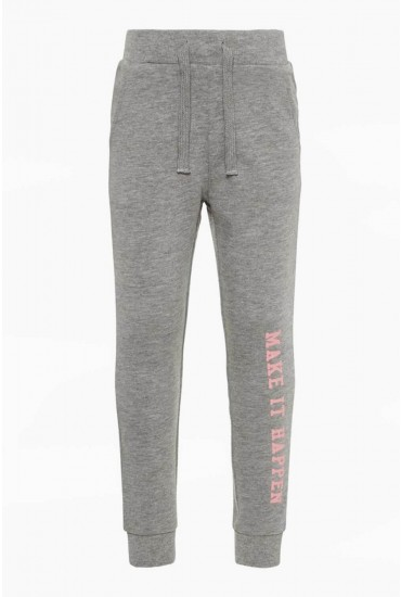 Beata Girls Sweat Pant in Grey