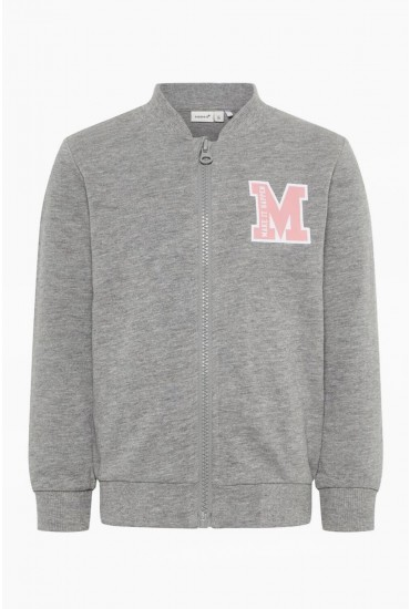 Beata Girls Sweat Top in Grey