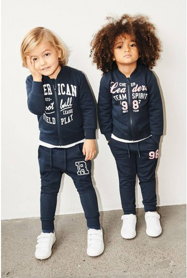 Beata Girls Sweat Top in Navy
