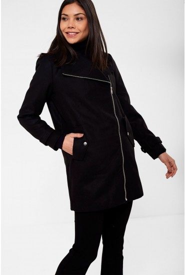 Dandra Coat in Black