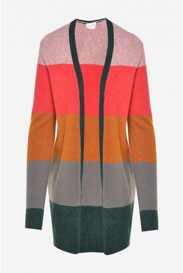 Ril Colour Block Cardigan in Multi
