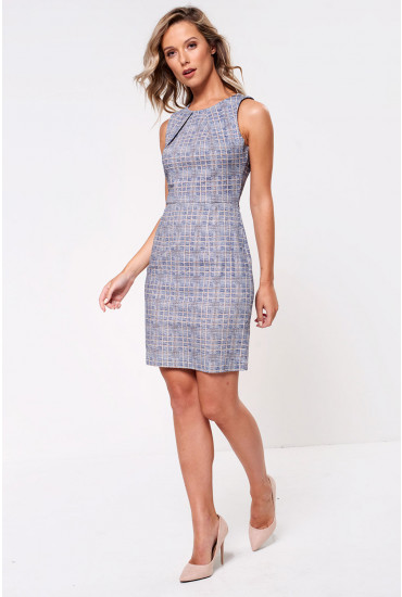 Donna Tailored Check Dress