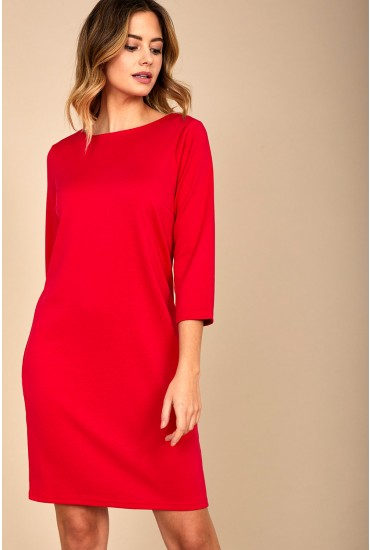 Tinny New Dress in Red