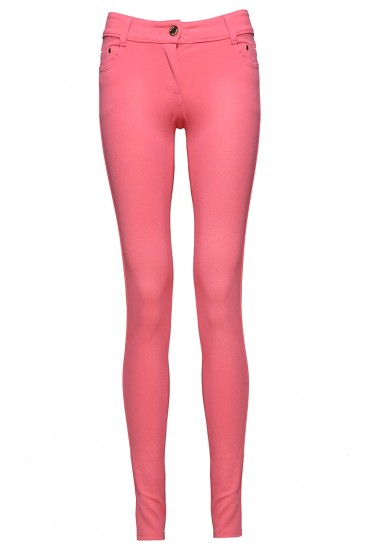 Claire Colour Jeggings in Pink
