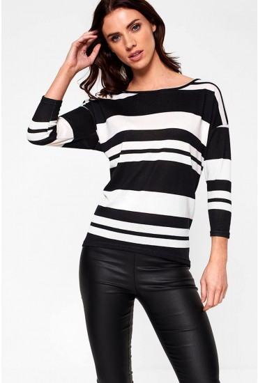 Elcos Top in Black Stripe