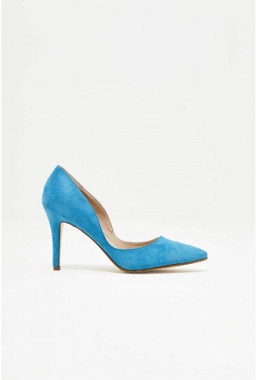 Arya Court Shoe in Turquoise