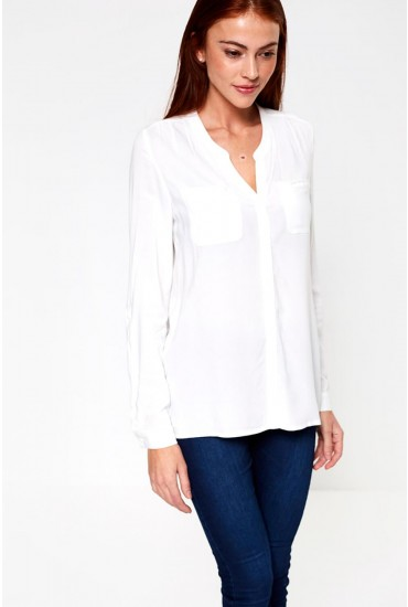 First Pocket Shirt in White