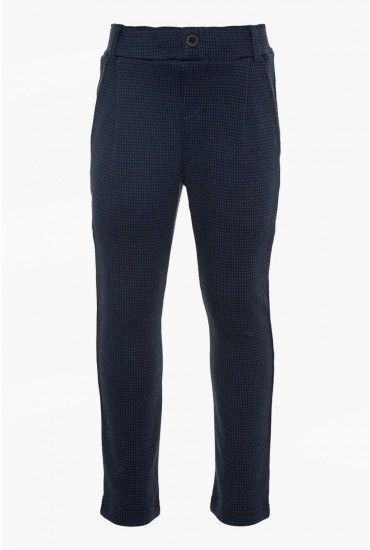 Fisk Boys Sweat Pants in Navy