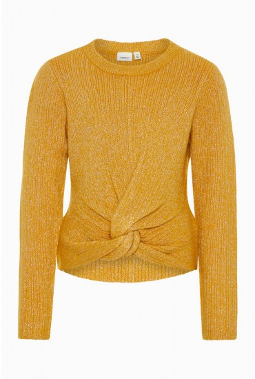 Frasha Girls Knit Top in Mustard