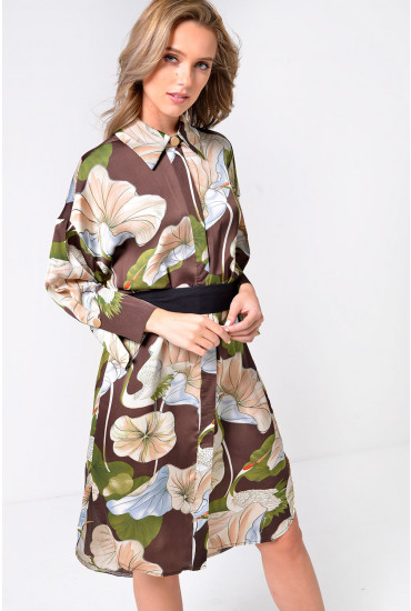 Tilly Printed Shirt Dress