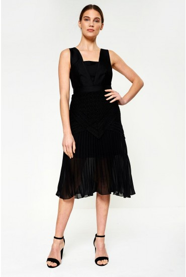 Gwen Occasion Dress in Black