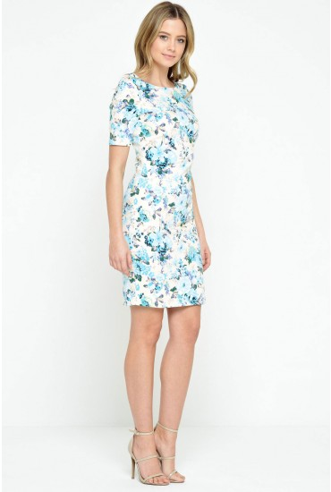 Natalie Floral Midi Dress