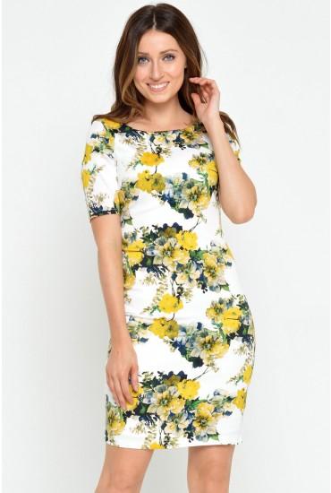 Kristy Floral Midi Dress