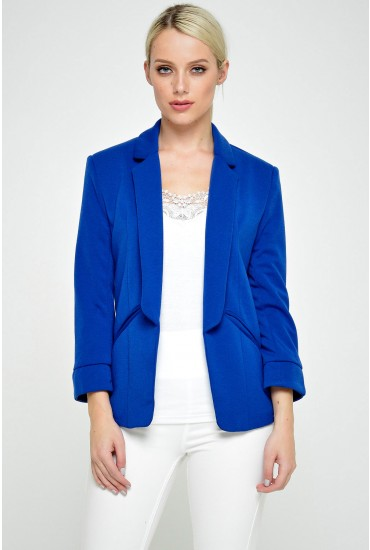 Sylvie Blazer in Royal Blue
