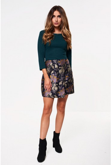 Freya Jacquard Short Skirt