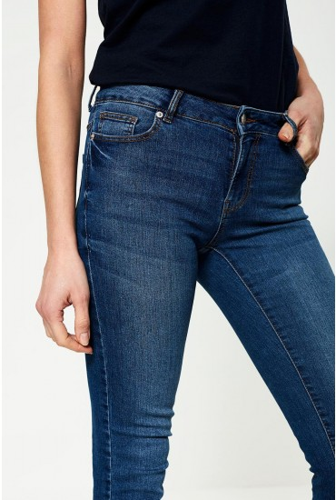 Jamie Tall Skinny Jeans in Medium Blue
