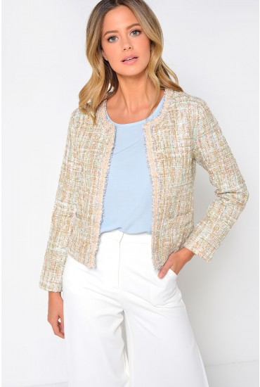 Dee Tweed Cropped Jacket