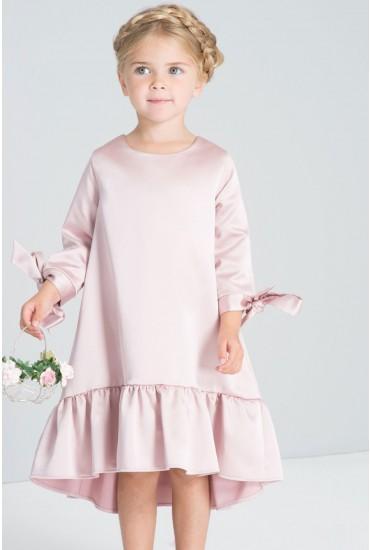 Sophia Girls Occasion Dress in Pink