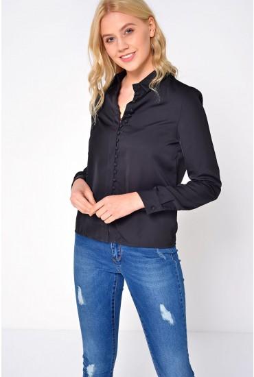 Chella L/S Shirt in Black