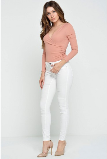 Five Pant Spring Long in White