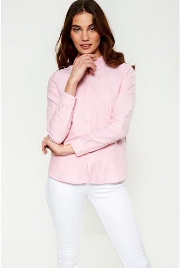 Katie LS Shirt in Pink