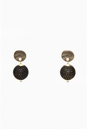 Kerri Ball Earrings in Gold