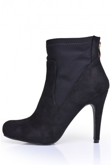 Gilda Stretch Ankle Boot in Back