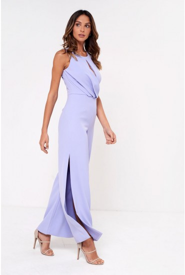 Lavish Alice Wide Leg Jumpsuit in Lilac