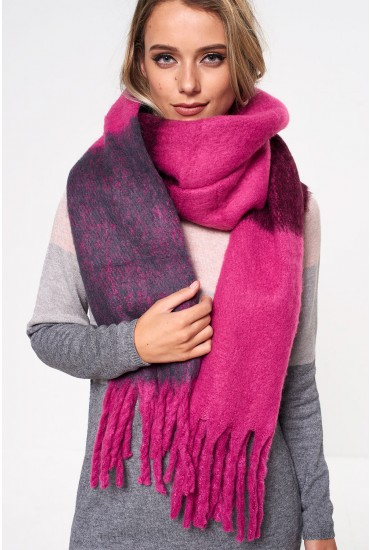 Laura Long Scarf in Pink