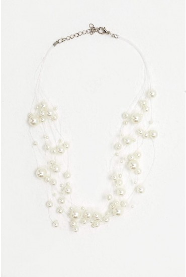 Lucia Layered Pearl Necklace