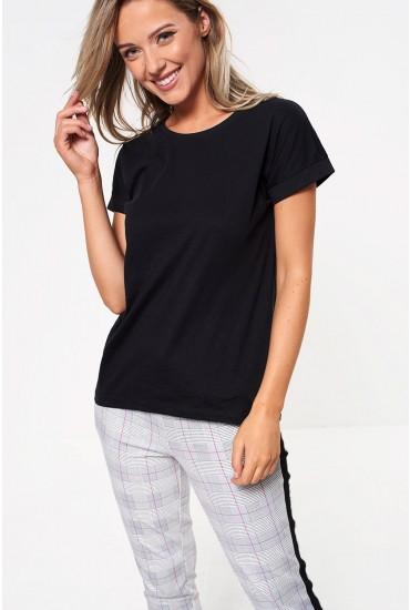 Louisa T-shirt in Black