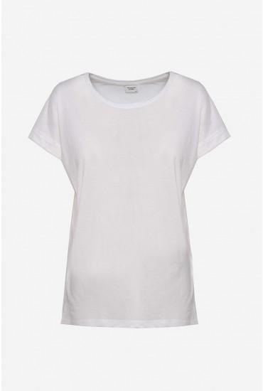 Louisa T-shirt in Off White