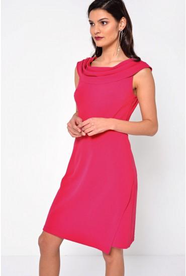 Julia Tailored Dress in Pink
