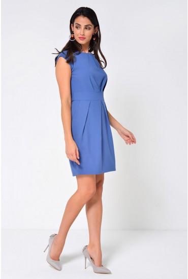 Robyn Tulip Dress in Blue