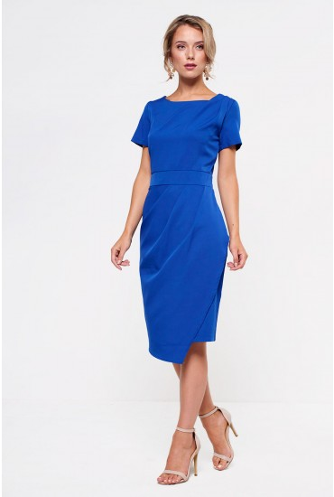 Akello Tulip Dress in Royal Blue