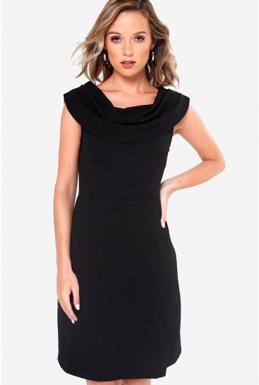 Julia Tailored Dress in Black